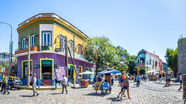 La Boca, Buenos Aires (iStock/PA)
