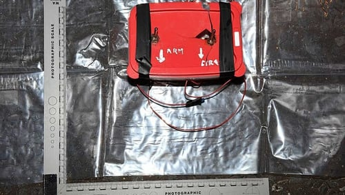 The Command Wire Initiated ImprovisedDevice was found in a parked car