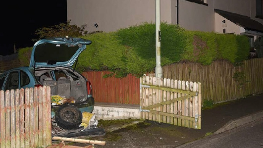 Bomb found in Derry 'meant for police patrol'-PSNI