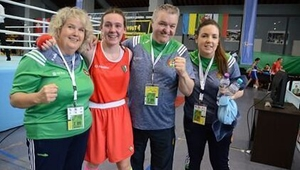 Niamh Fay (2nd from L)
