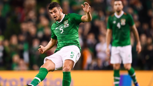 John Egan will wear the armband for the visit of Bulgaria