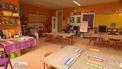 Schools providing basic services for homeless children