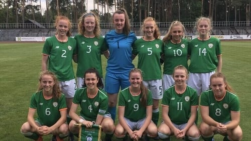 Ireland got their UEFA Women's U17s Championship Qualifier Round off to a brilliant start