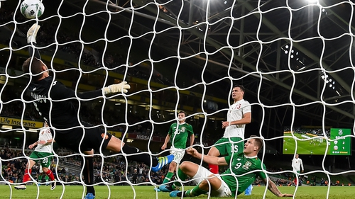 James Collins caps off his Irish debut with a fine goal