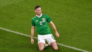 The Preston man bagged his first senior goal for the Republic of Ireland against Bulgaria