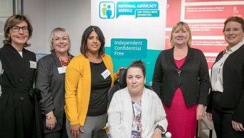 (L-R) Nuala Doherty, Louise Loughlin, Kavita Sharma, Liz Halton, Angela Black and Sarah O'Callaghan