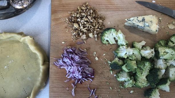 baking quiche