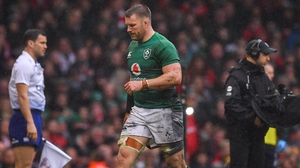 Sean O'Brien played his last Ireland game against Wales in March