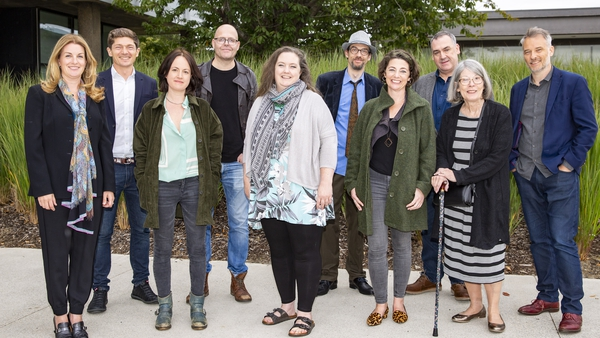 The 10 authors, shortlisted for the RTÉ Radio 1 Short Story Competition in honour of Francis MacManus 2019