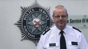 PSNI chief constable Simon Byrne