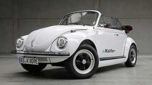 The e-Beetle can accelerate to 50 km/h in just under four seconds