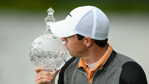 McIlroy won at the K Club in 2016