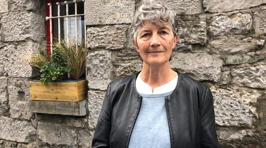 An Teachta Dála Catherine Connolly.