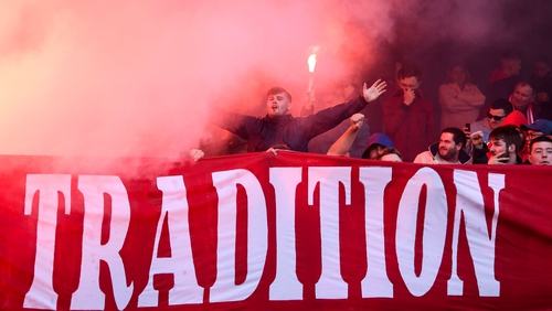 Shelbourne supporters will be out in force at United Park