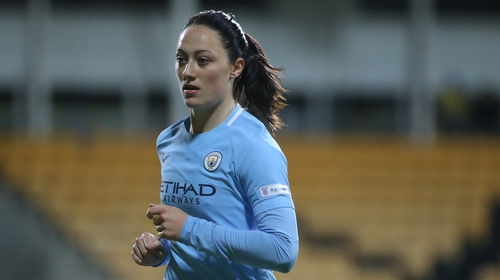 Manchester City's Megan Campbell