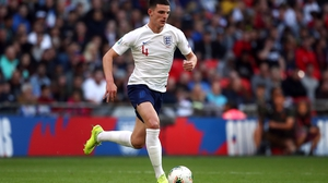 Declan Rice has played five times for England since making his second international debut in March
