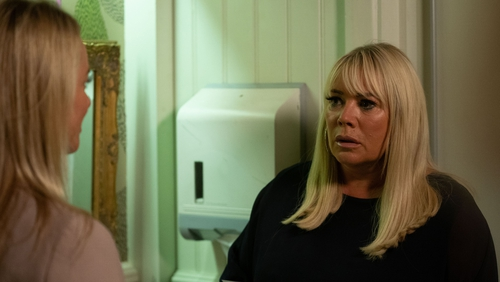 Sharon is horrified when Mel finds out the truth...