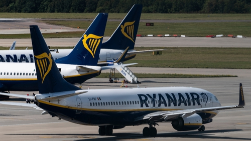 Ryanair said its full year group traffic is now expected to grow to 154 million, up from its previous guidance of 153 million