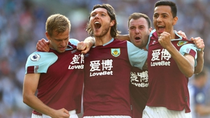 Jeff Hendrick celebrates his last-gasp equaliser against Brighton