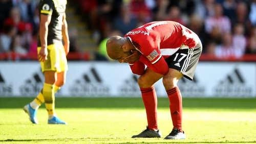 David McGoldrick is waiting for his first goal in the Premier League