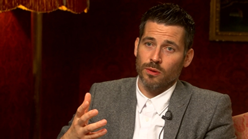 """Robert James-Collier: """"In those times, it was illegal, it was against god and if you were homosexual, people thought you were disgusting and foul."""""""
