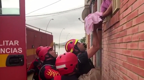 Orihuela has been particularly badly affected by the floods