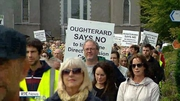 Six One News (Web): Protest held in Oughterard over possible Direct Provision centre