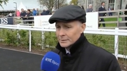 Pat Smullen was in upbeat mood ahead of his Champions Race for Cancer Trials at the Curragh