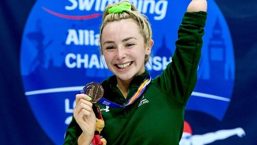 Ellen Keane took bronze at the world championships in London