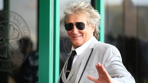 """Rod Stewart: ''No one knows this, but I thought this was about time I told everybody. I'm in the clear, now, simply because I caught it early. I have so many tests."""""""