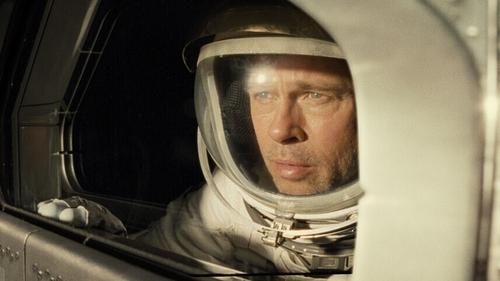 Brad Pitt Phones Astronaut, Asks