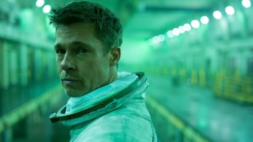 Brad Pitt as astronaut Roy McBride in Ad Astra