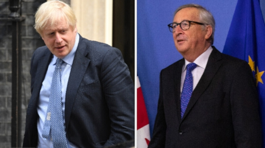 Johnson in first meeting with Juncker since becoming PM