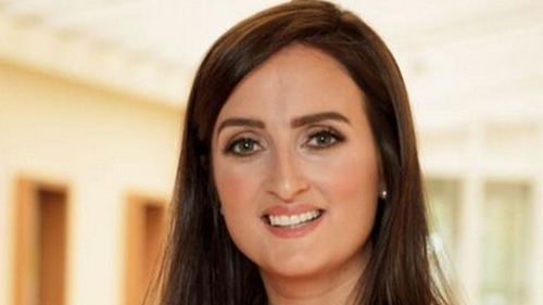 Sharon Cunningham of Shorla was crowned Ireland's Best Young Entrepreneur last night