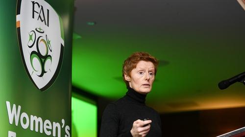 Eileen Gleeson has huge experience in the women's game