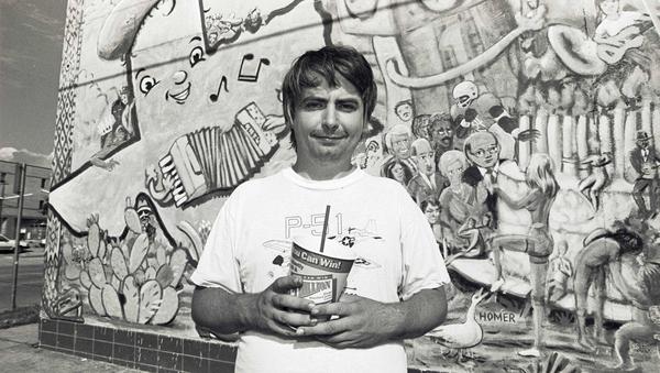 The late, great Daniel Johnston (Pic: J McConnico, via Metropole Films)
