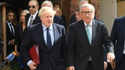 Boris Johnson and Jean-Claude Juncker met in Luxembourg for a working lunch
