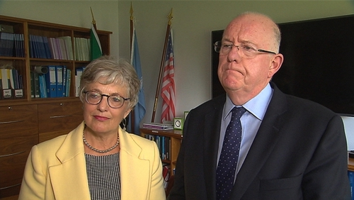 Katherine Zappone and Charlie Flanagan were in Galway today