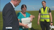 Six One News (Web): 'World first' as drone delivers insulin to Aran Islands
