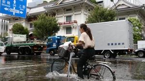 A wet weekend is in store in Yokohama