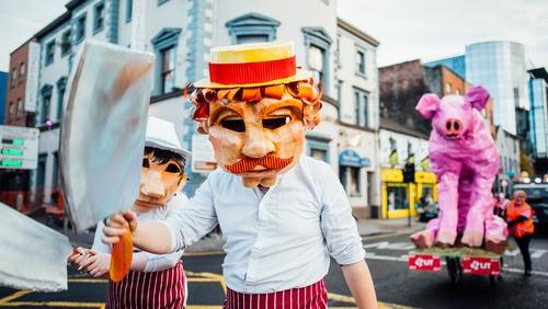 Pigtown Parade. Photo Credit: Brian Arthur