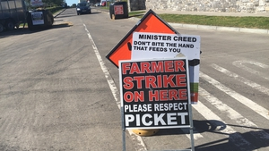 Farmers have staged a number of protests over issues in the beef sector