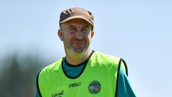 Rouse during his time as Offaly caretaker manager