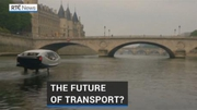 RTÉ News: Travelling down the Seine in a bubble