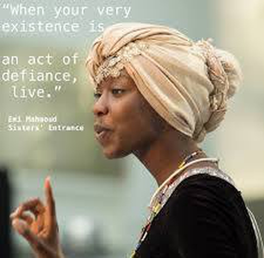Emi Mahmoud, slam poet champion and UNHCR Ambassador