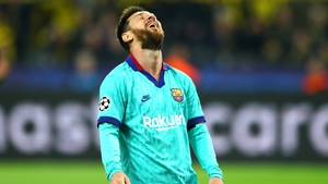 Leo Messi couldn't crack open the home rearguard