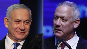Benjamin Netanyahu had squared off against Benny Gantz in three inconclusive elections over the past year