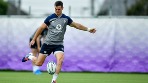 Johnny Sexton looks set to be fit for the Six Nations