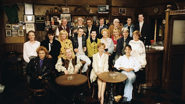 Fair City Cast in McCoy's Pub