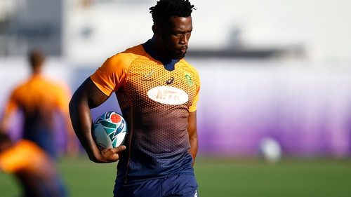 Siya Kolisi is the only change for the Springboks